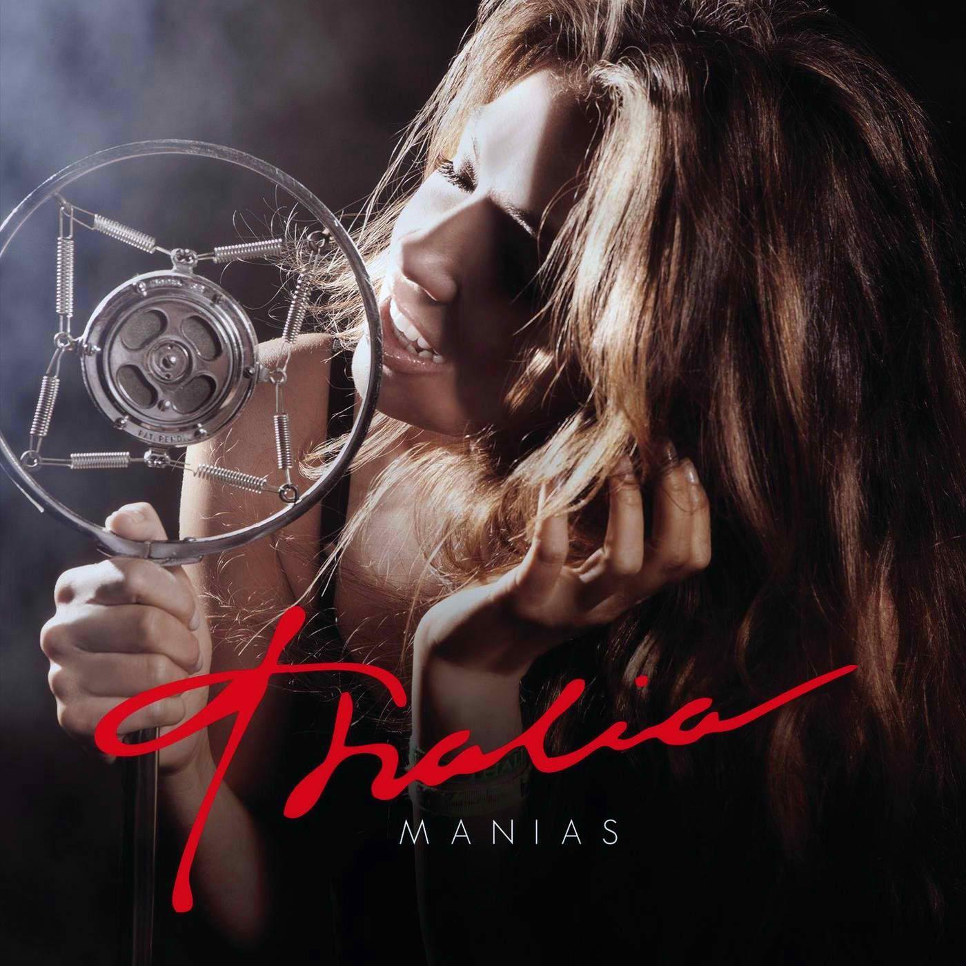 nuevo disco de thalia manias