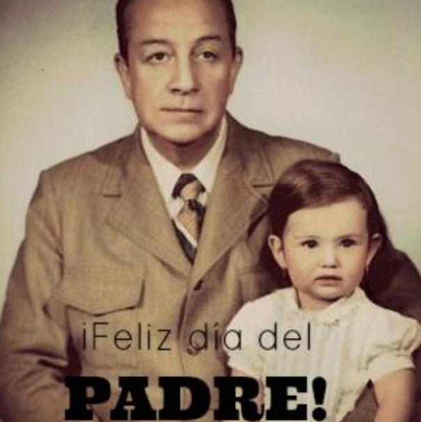 Thalia_nina_con_su_padre