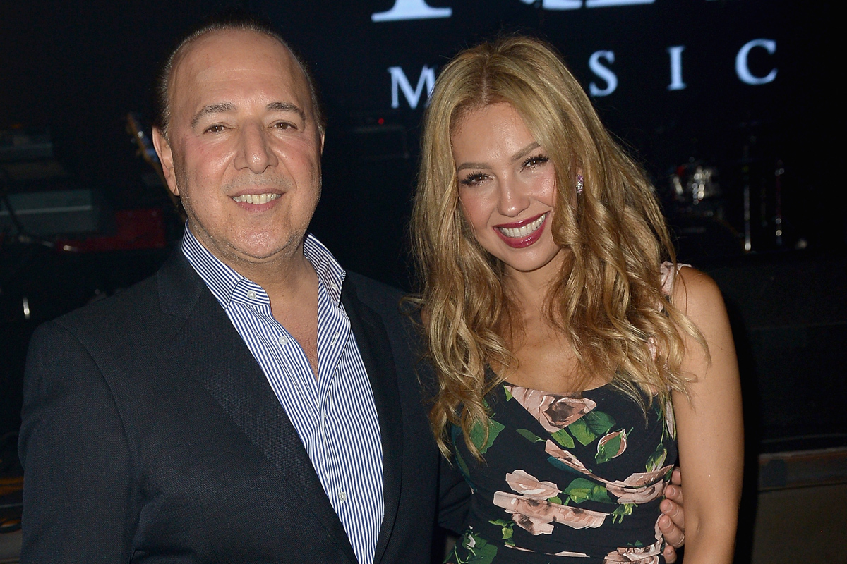 Tommy Mottola and Thalia renew vows after 13 years (Daily ...
