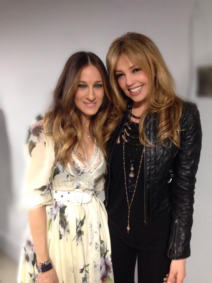 Thalia comparte consejos de moda con Sarah Jessica Parker ... Kim Cattrall Instagram