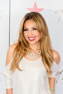 CHICAGO, IL - OCTOBER 16: Thalia makes a public appearance at Macy's on State Street to showcase her Fall Collection at Macy's State Street on October 16, 2015 in Chicago, Illinois. (Photo by Jeff Schear/Getty Images for Macy's)