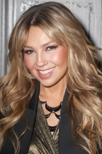 Thalia speaks onstage at the AOL BUILD on October 20, 2015 in New York City (3)