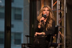 NEW YORK, NY - OCTOBER 20: Actress Thalia speaks onstage at the AOL BUILD Presents: Thalia at AOL Studios In New York on October 20, 2015 in New York City. (Photo by Ryan Liu/WireImage)
