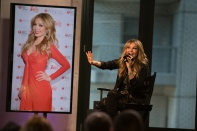 NEW YORK, NY - OCTOBER 20: Actress Thalia speak onstage at the AOL BUILD Presents: Thalia at AOL Studios In New York on October 20, 2015 in New York City. (Photo by Ryan Liu/WireImage)