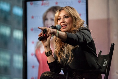 Thalia speaks onstage at the AOL BUILD on October 20, 2015 in New York City (50)