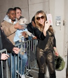 Thalia Departs AOL Studios in NYC AOL Studio, NY Pictured: Thalia Ref: SPL1156550 201015 Picture by: Janet Mayer / Splash News Splash News and Pictures Los Angeles: 310-821-2666 New York: 212-619-2666 London: 870-934-2666 photodesk@splashnews.com